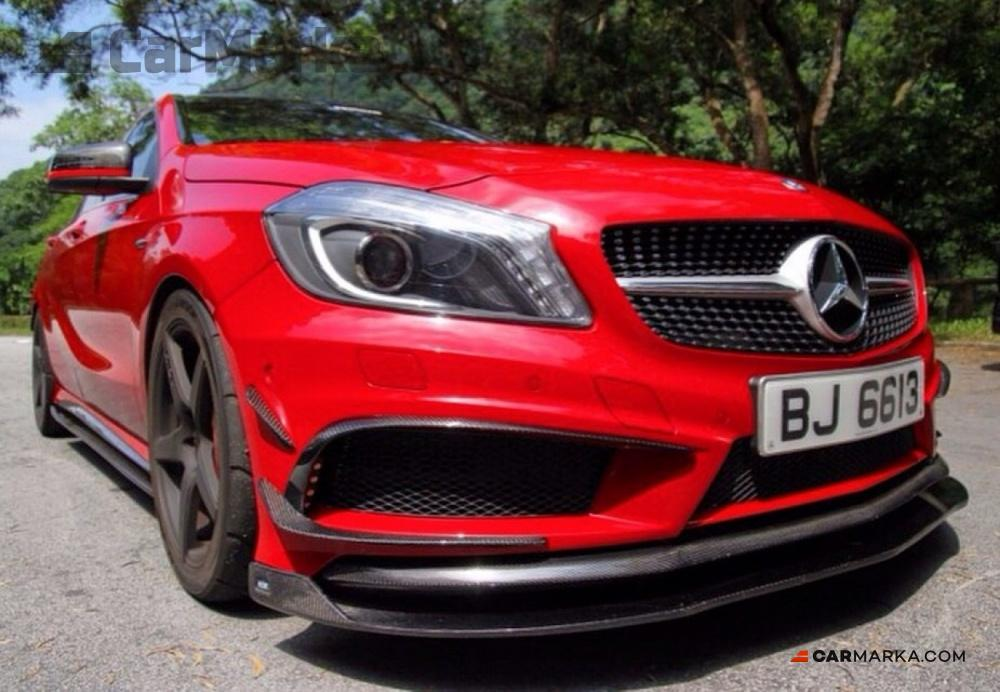 Mercedes benz a class w176 a45 amg front bumper carbon for Buy mercedes benz accessories online