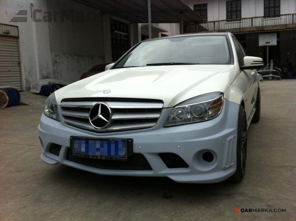 Mercedes benz c class w204 2008 front bumper amg 2008 for Mercedes benz brand image