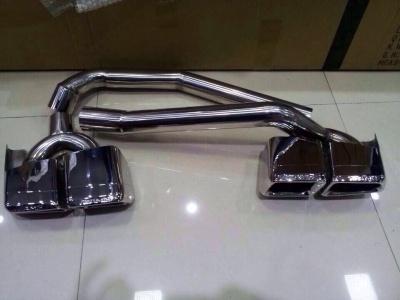 Mercedes benz c class w204 2012 rear exhaust splitter set for Mercedes benz c300 exhaust
