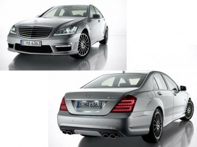 Mercedes benz s class w221 s63 s65 2006 conversion body for Mercedes benz body kit