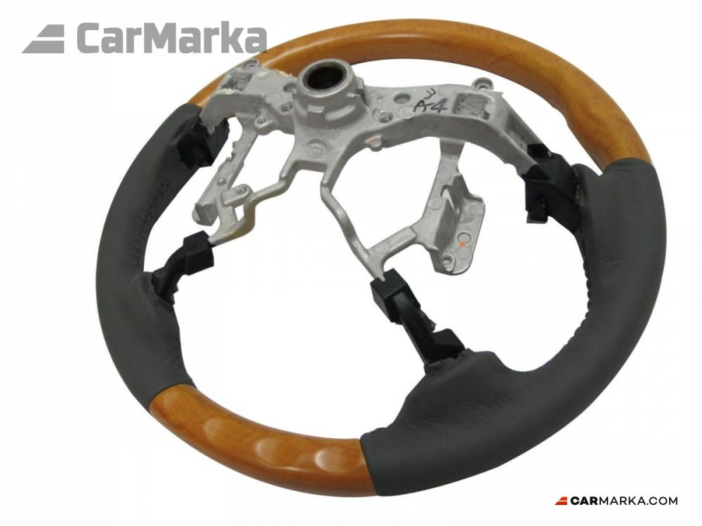 toyota camry 40 2006 steering wheel grey leather with light wood cm cv40st. Black Bedroom Furniture Sets. Home Design Ideas