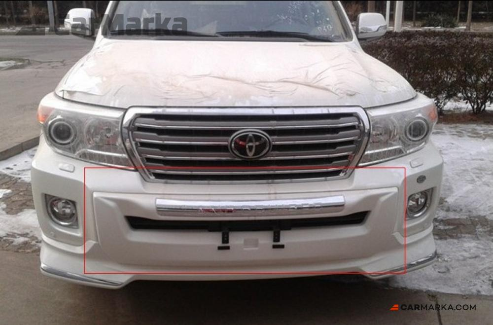 Toyota Land Cruiser 200 2012 Bumper Protector Painted