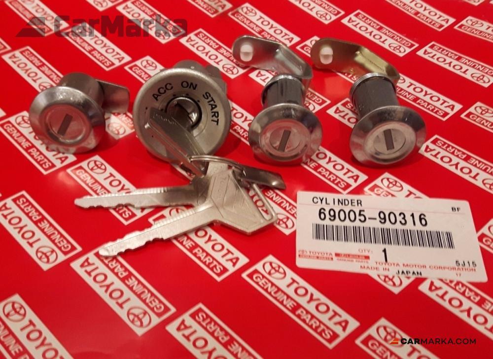 TOYOTA LAND CRUISER FJ40 FJ45 OLD BJ40 FJ40 Ignition Cylinder Lock Set  w/Keys 69005-90316 | CM-FJ40GNKLKST