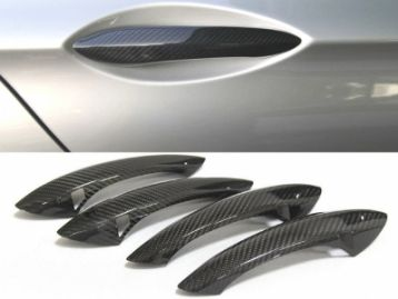 BMW 5 SERIES F10(M5) 2010- carbon fiber door handel covers | CM-BM5A6DRHCF