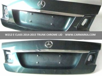 CM-W212E14TRCHLD MERCEDES-BENZ E CLASS W212 (E & E63) 2014- trunk lid chrome