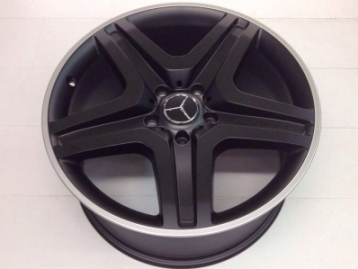 CM-5X130MERR20 Wheel Rims Set G-Class Black