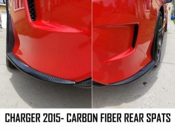 DODGE CHARGER Rear Bumper Skirts For SRT 2015- | CM-DCH15SRTRSP