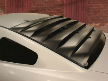 FORD MUSTANG 2014- Rear glass grille | CM-FMRWSFRPL