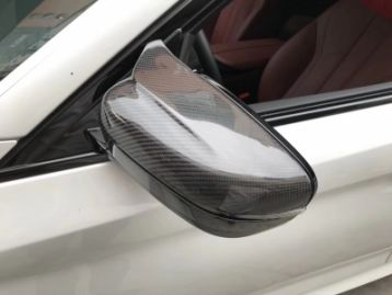 BMW 5 SERIES G30 2017- Replacement Mirror Covers Set | CM-BM5G30CFMCRP