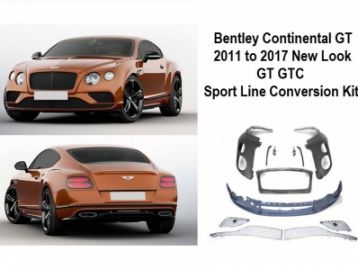 BENTLEY GRAN TURISMO GT 2003-2011 Conversion Bodykit 2011- to 2017- FaceLift Look | CM-BGT11T17LKKT