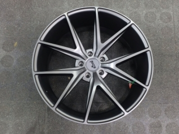 CM-5X130GRMNCH ALLOY WHEEL RIMS SET 5X130 R21 NICHE GREY