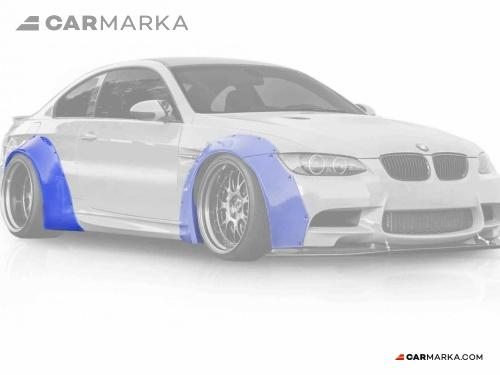 BMW 3 SERIES E92(93)M3 2 DOOR 2008- FENDER EXTENSIONS SET WIDE BODY | CM-E92MFFLRST CM-E92MFFLRST