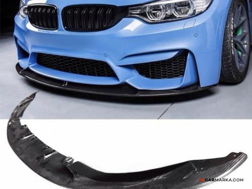 BMW 3 SERIES F30, F80(M3) 2014- M3 and M4 Front Lip CF 3D Style | CM-BMM3M4FRLP3D buy $ 399.00