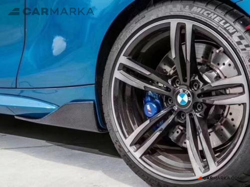 BMW Z4 Carbon Fiber Side Skirts Rear Spats | CM-BM2MRRSKCF buy carmarka.com