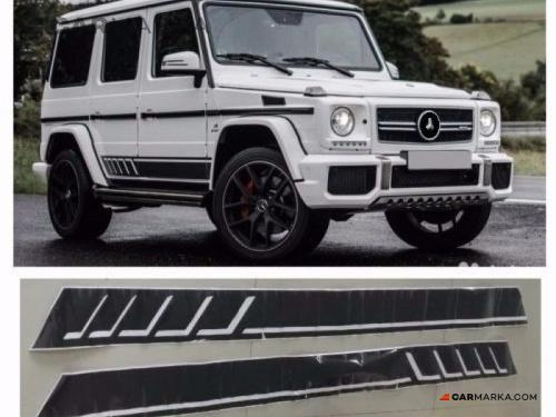 MERCEDES-BENZ G CLASS W463 (G63/G65) door stickers set grey | CM-W463G63E1GRST buy carmarka.com
