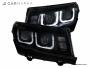 CHEVROLET CAMARO (CAMARO SS) 2013- Head lights set with angel eyes | CM-CHCM14HLSTBL CM-CHCM14HLSTBL