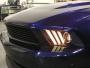 FORD MUSTANG 2012- Front head lights set facelift look | CM-FM10FRHLBFL CM-FM10FRHLBFL