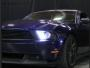 FORD MUSTANG 2012- Front head lights set facelift look | CM-FM10FRHLBFL