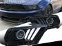 FORD MUSTANG 2012- Front head lights set facelift look | CM-FM10FRHLBFL buy carmarka.com